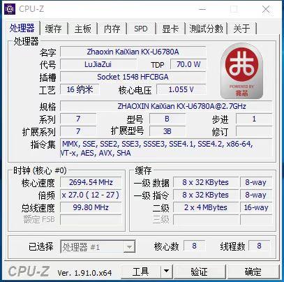 KX-U6780A CPU-Z