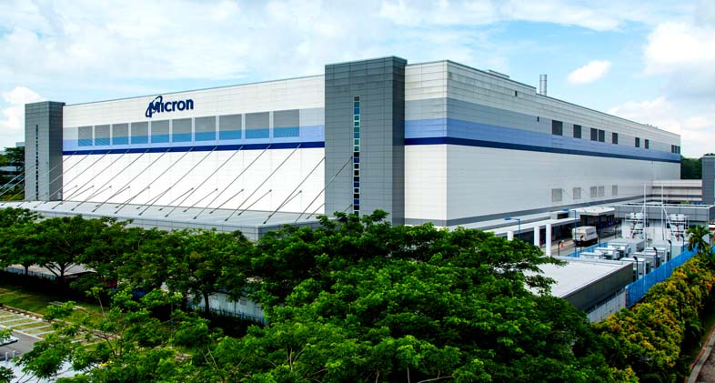 Micron factory