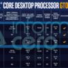 Intel Comet Lake-S F付きモデル