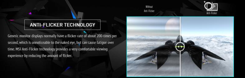 MSI Optix G241 - Anti-Flicker