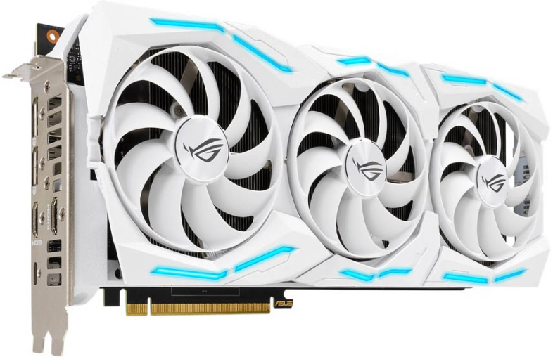 ROG Strix GeForce RTX 2080 SUPER White Edition - 前面