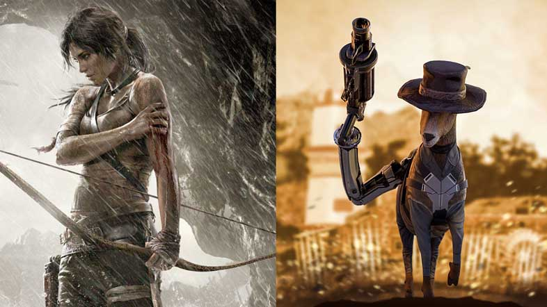 『Tomb Raider』『GOAT OF DUTY』