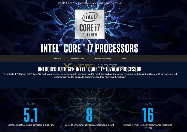 Core i7-10700K