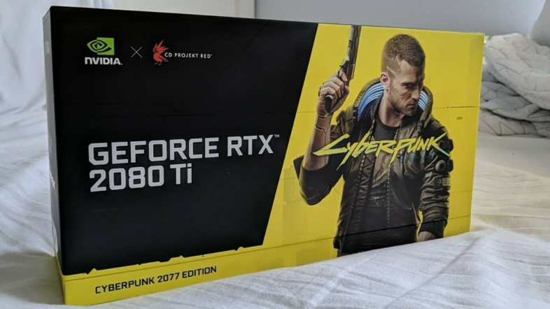 eBay - GeForce RTX 2080 Ti Cyberpunk 2077 Edition