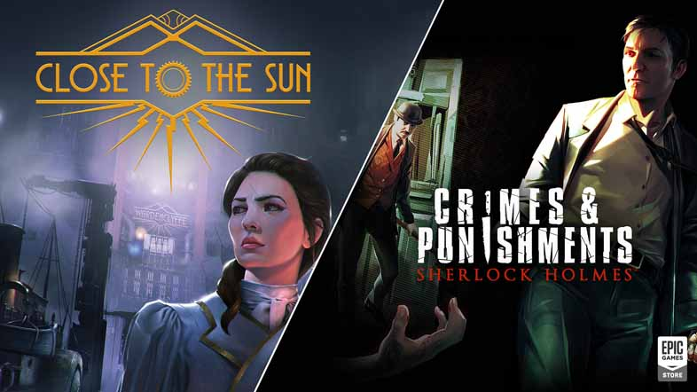 Epic Games - 『Close to the Sun』『Sherlock Holmes: Crimes and Punishments』が無料