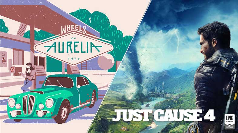 『Just Cause 4』『Wheels of Aurelia』が無料