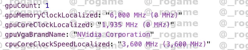 GeForce RTX 3000シリーズらしきカード