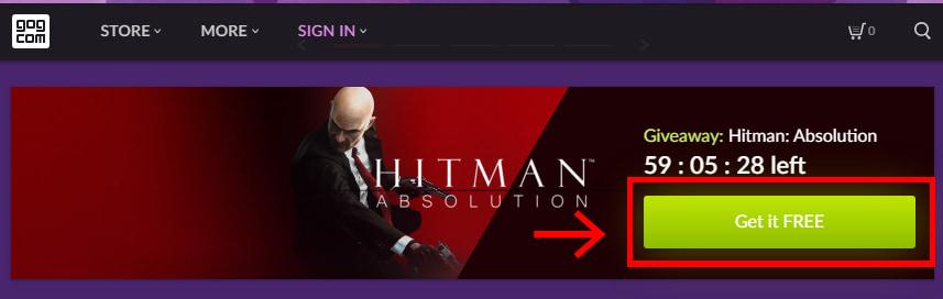 Hitman: Absolutionのバナー