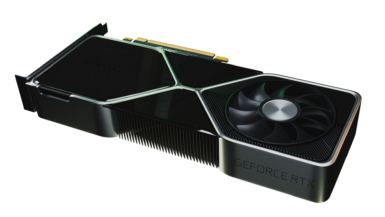 GeForce RTX 3080 - 3Dイメージ