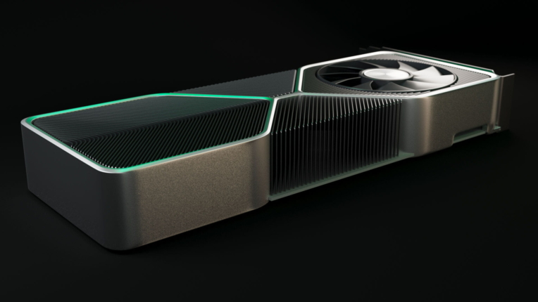 GeForce RTX 3080 - 3Dイメージ