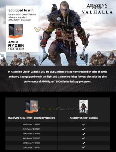 Ryzen 3000シリーズ - ゲームバンドル