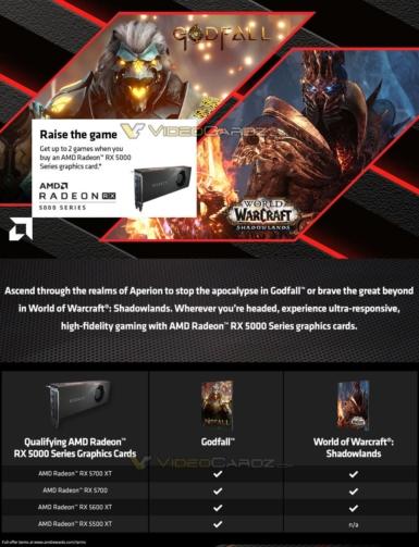 Radeon 5000シリーズ - ゲームバンドル