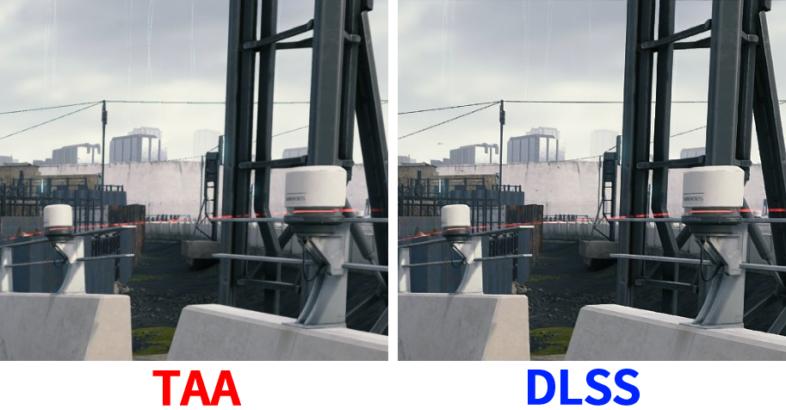 TAA vs DLSS