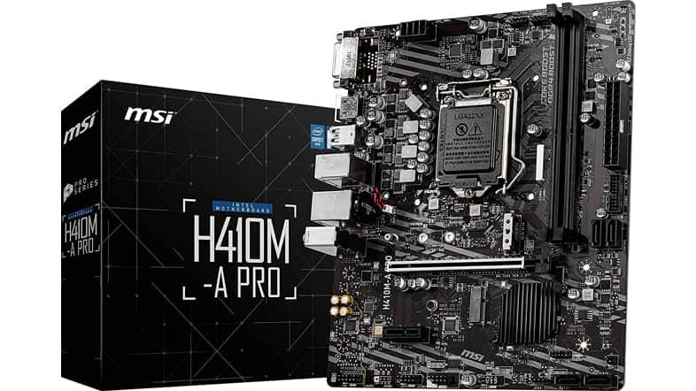 MSI H410M-A PROマザーボード