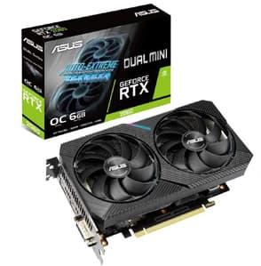 ASUS GeForce RTX 2060 DUAL-RTX2060-O6G-MINI
