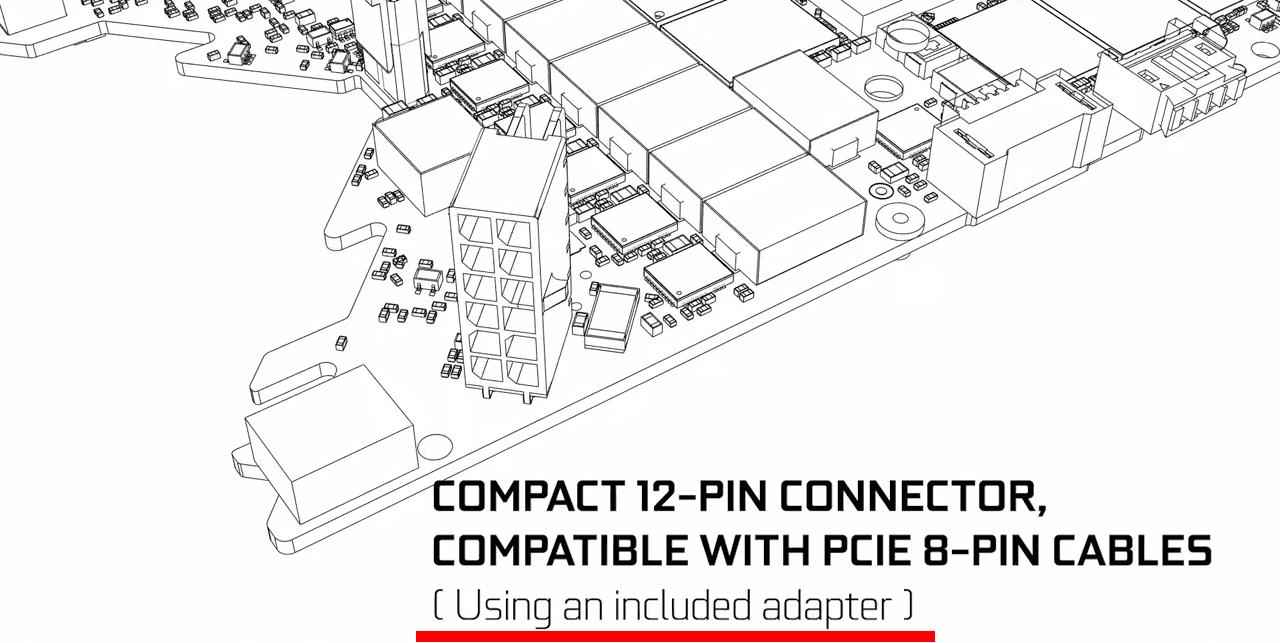 NVIDIA 12pin変換コネクタは付属される模様