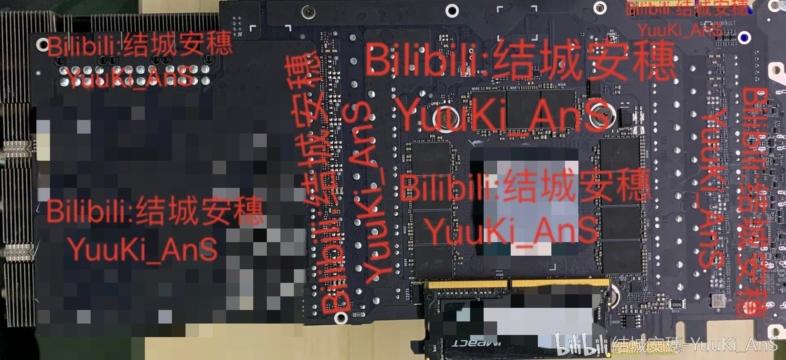 GeForce RTX 3000シリーズのPCB?
