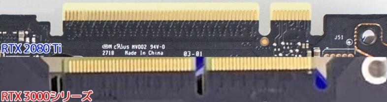 GeForce RTX 3000シリーズのNVLink