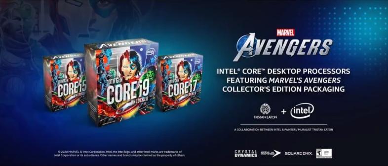 Intel Core 10000シリーズ - Avengers Edition