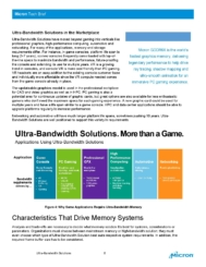 Micron - The Demand for Ultra-Bandwidth Solutions