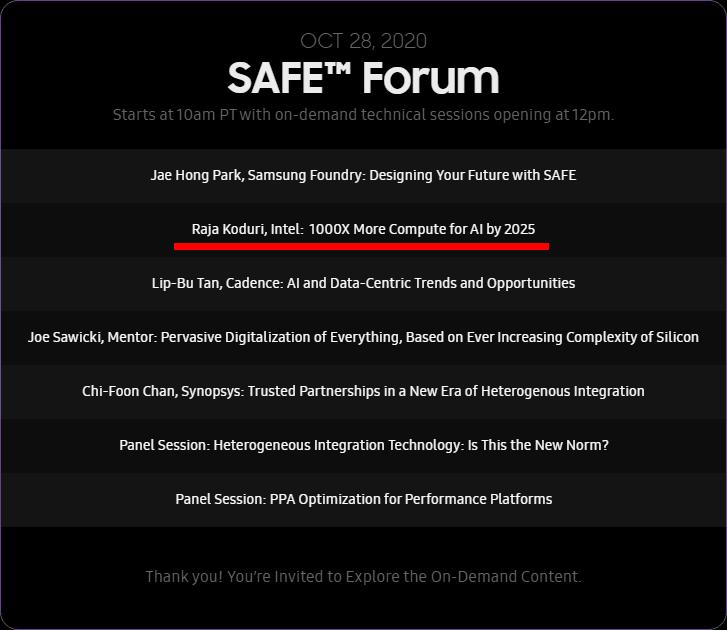 Samsung Foundry SAFE 2020