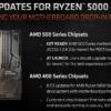 AMD Ryzen 5000シリーズ対応状況