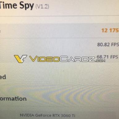 GeForce RTX 3060 Ti - Time Spy