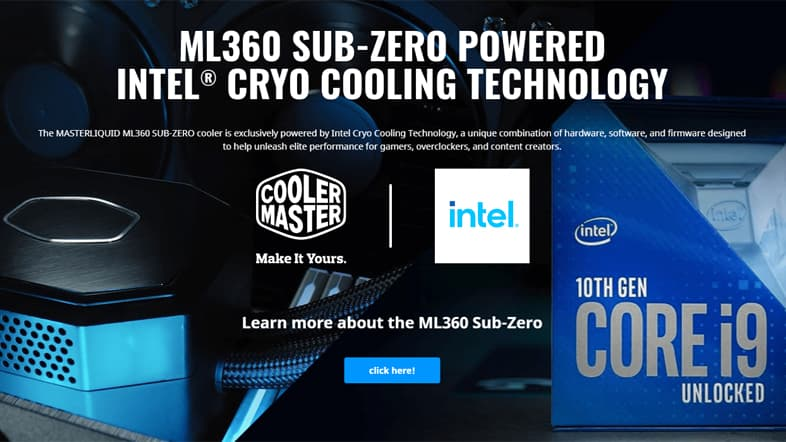 Intel Cryo Cooling Technology