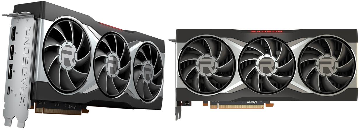 Radeon RX 6900 XT リファレンスモデル