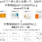 Amazonギフト券とまとめ買いキャンペーン