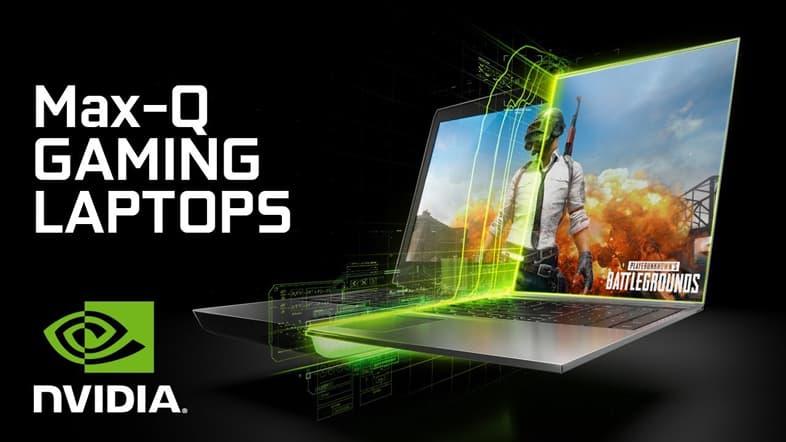 NVIDIA GeForce Max-Q Gaming Laptops
