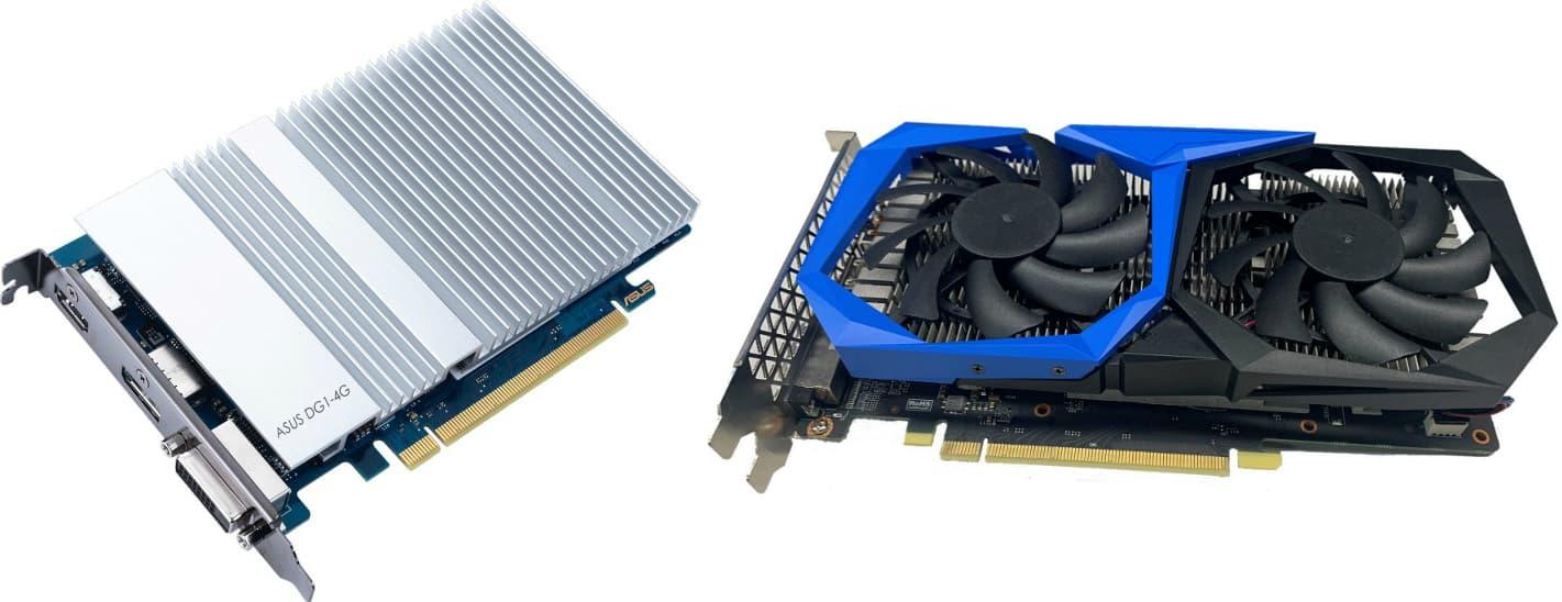 Intel Iris Xe ディスクリート・デスクトップ・グラフィックスカード