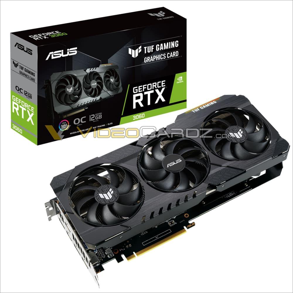 ASUS TUF Gaming GeForce RTX 3060 12GB OC