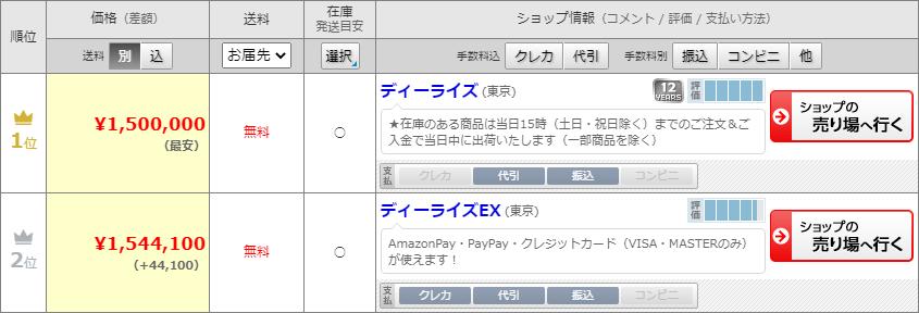 GeForce GTX 1660、150万円で販売中