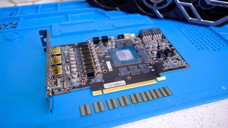 GeForce RTX 3070のVRAMを8GBから16GBへと換装