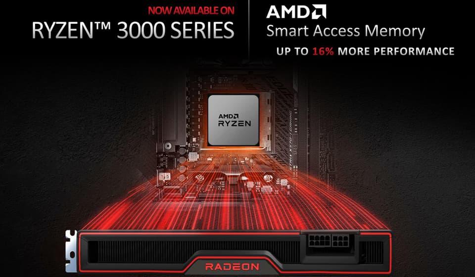 Ryzen 3000シリーズでもSmart Access Memory (SAM)をサポート