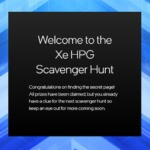 Intel Xe HPG Scavenger Hunt
