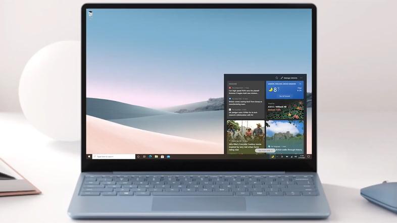 Windows10 - 『ニュースと関心事項』(News and interests)