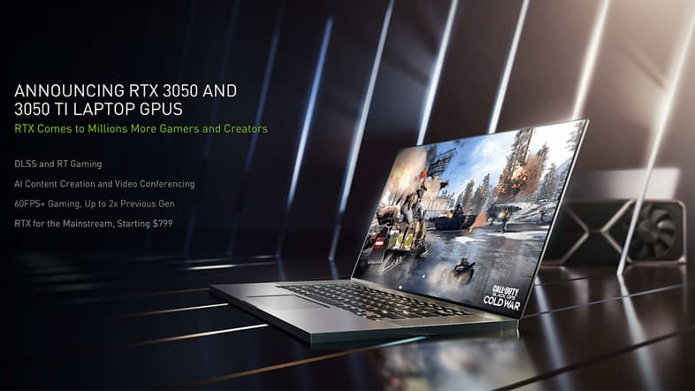 GeForce RTX 3050 Ti Laptop GPU