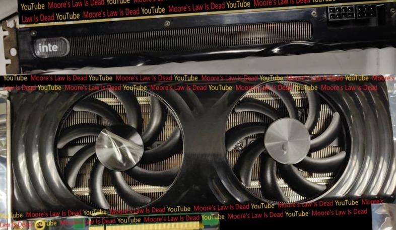 Intel Xe-HPG DG2 512EUモデル ES版カード