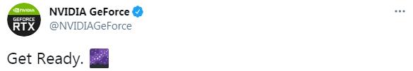 NVIDIA GeForceアカウントのツイート