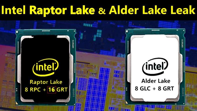Moore's Law Is Dead - Intel Alder Lake / Raptor Lakeリーク