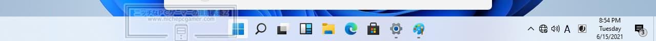 Windows11 - タスクバー