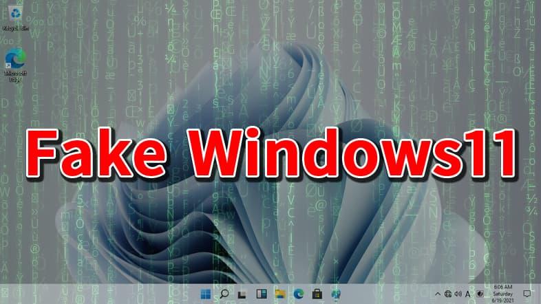 Fake Windows11