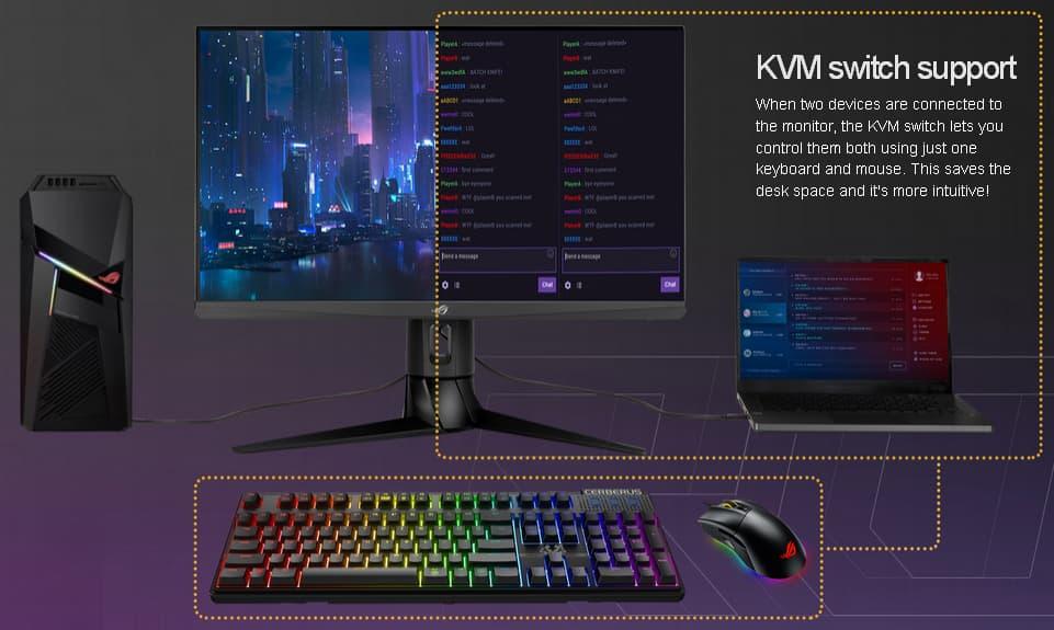 KVM機能を搭載