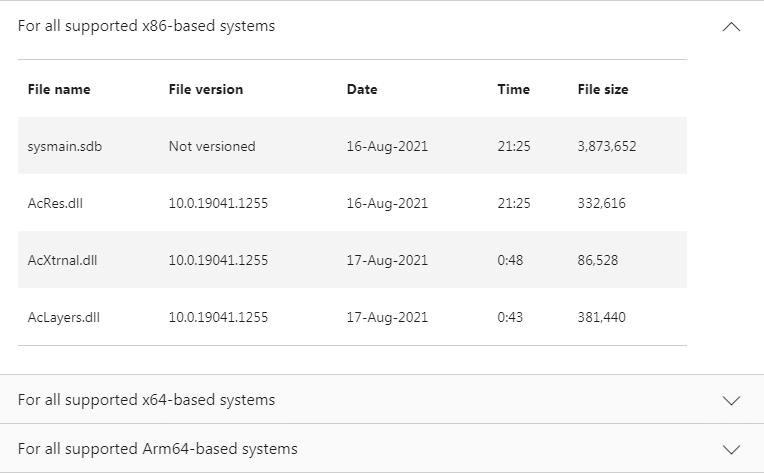 KB5005932ファイル情報