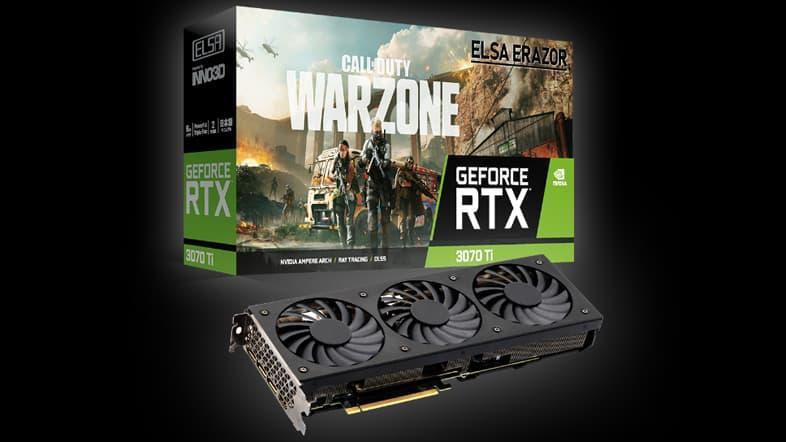 ELSA GeForce RTX 3070 Ti ERAZOR