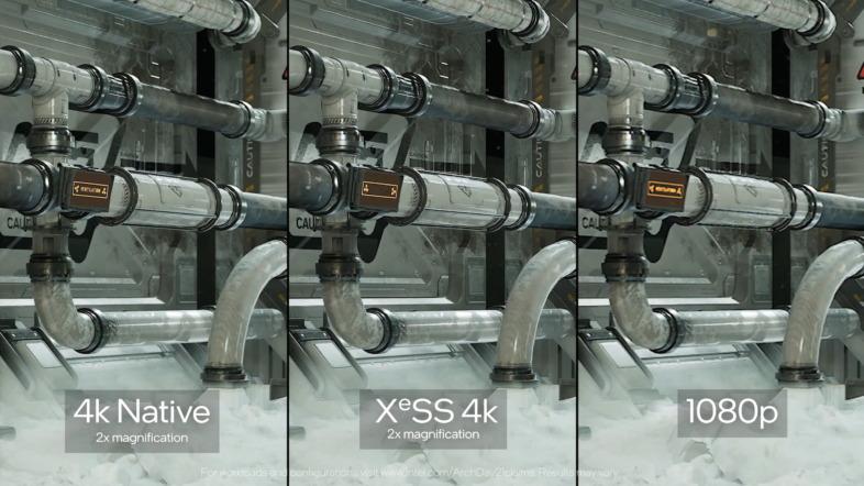 Intel Arc - XeSSサンプル