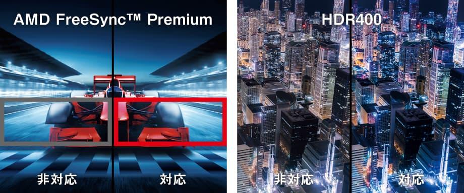 Acer XV241YXbmiiprx - AMD FreeSync Premium / HDR400 イメージ