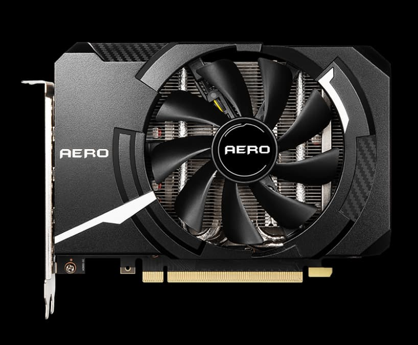 MSI GeForce RTX 3060 AERO ITX 8G OC LHR